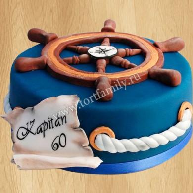 Торт на день ВМФ