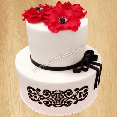 Торт №: P406