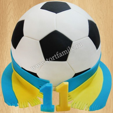 Торт сыну футболисту