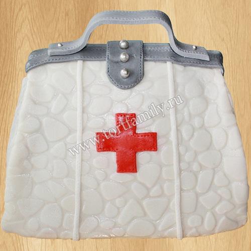 Торт медицинская сумка