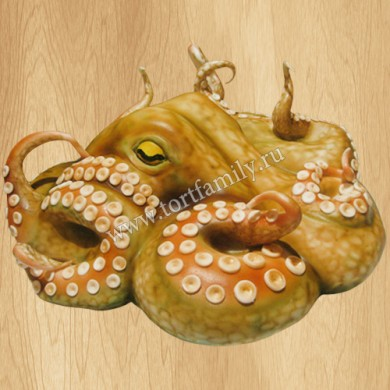 Торт в виде осьминога