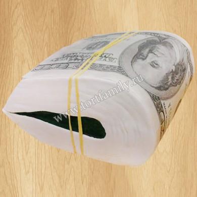 Торт пачка баксов
