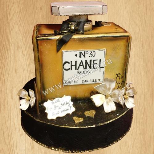Торт духи Шанель