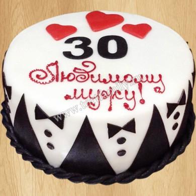 Торт мужу на день рождения 30 лет