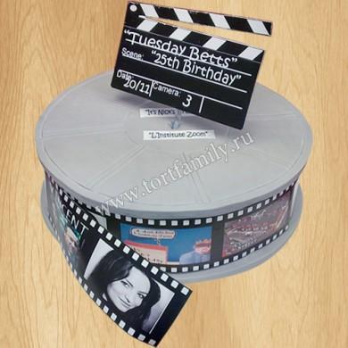 Торт кинолента