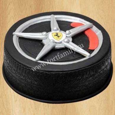 Торт шина Ferrari