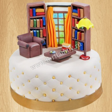 Торт библиотекарю
