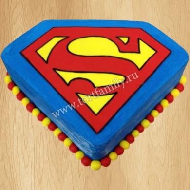 Торт Знак Супермена