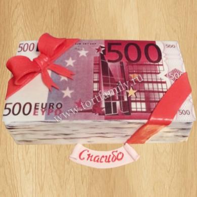 Торт 500 EURO