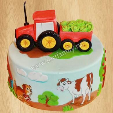 Торт на День фермера