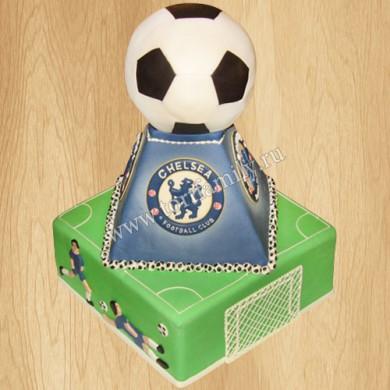 Торт с символикой Chelsea