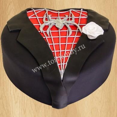 Торт для мужчины Фрак