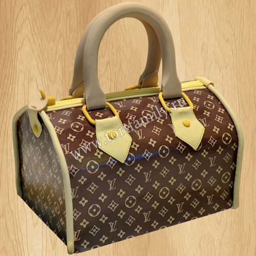 Торт сумка Louis Vuitton