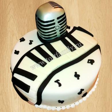 Торт вокальный микрофон