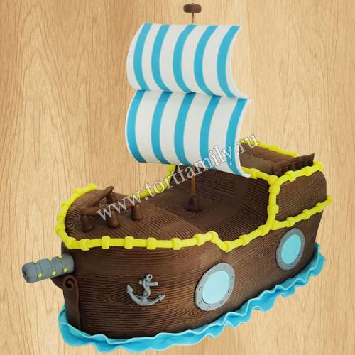 Торт капитану корабля