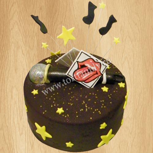 Торт микрофон на день рождения