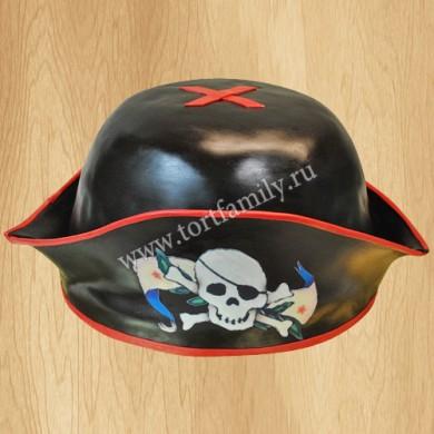 Торт пиратская шляпа