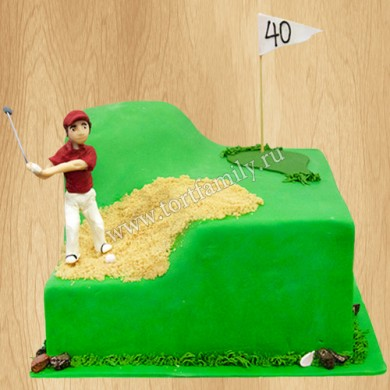 Торт гольф
