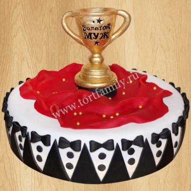 Торт кубок