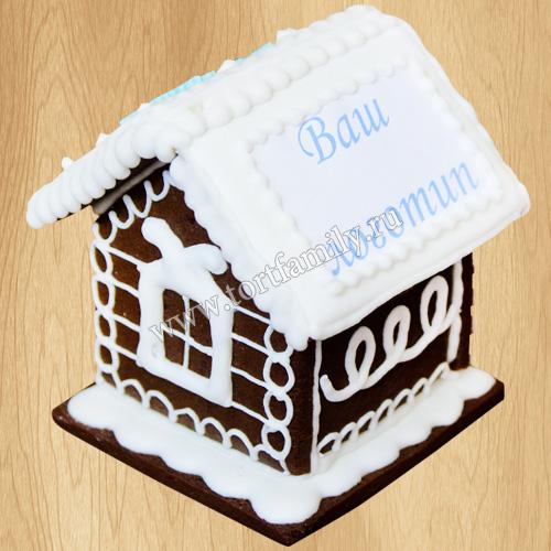Пряничный домик с логотипом №2