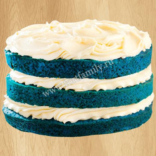Торт «Синий бархат»