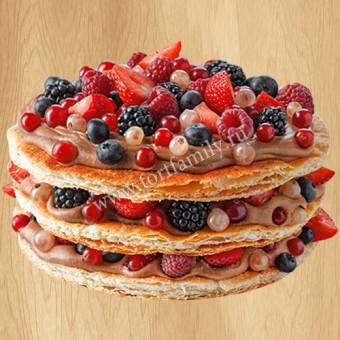 Торт «Мильфей»