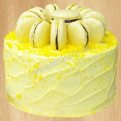 Торт из макарунов