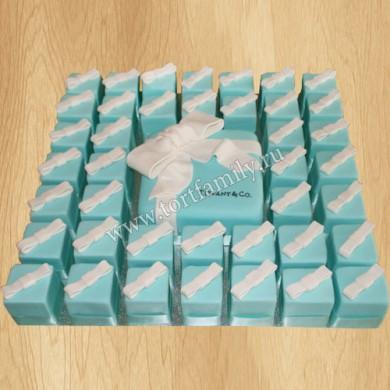 Порционный свадебный торт Tiffany