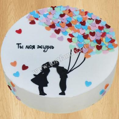 Торт на 8 лет свадьбы