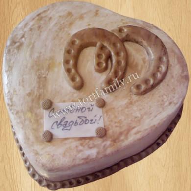 Торт на годовщину свадьбы 7 лет