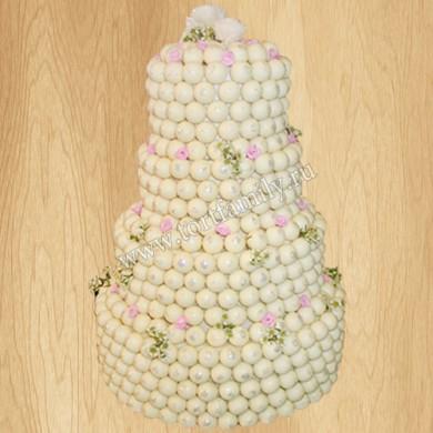Свадебный торт из Cake Pops