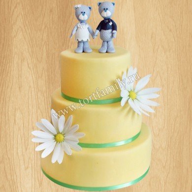 Торт на годовщину свадьбы 9 лет