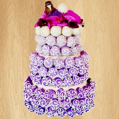 Кейк-попсы для свадьбы